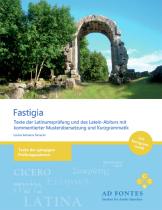 Fastigia - Texte der Latinumsprüfung und des Latein-Abiturs mit kommentierter Musterübersetzung und Kurzgrammatik