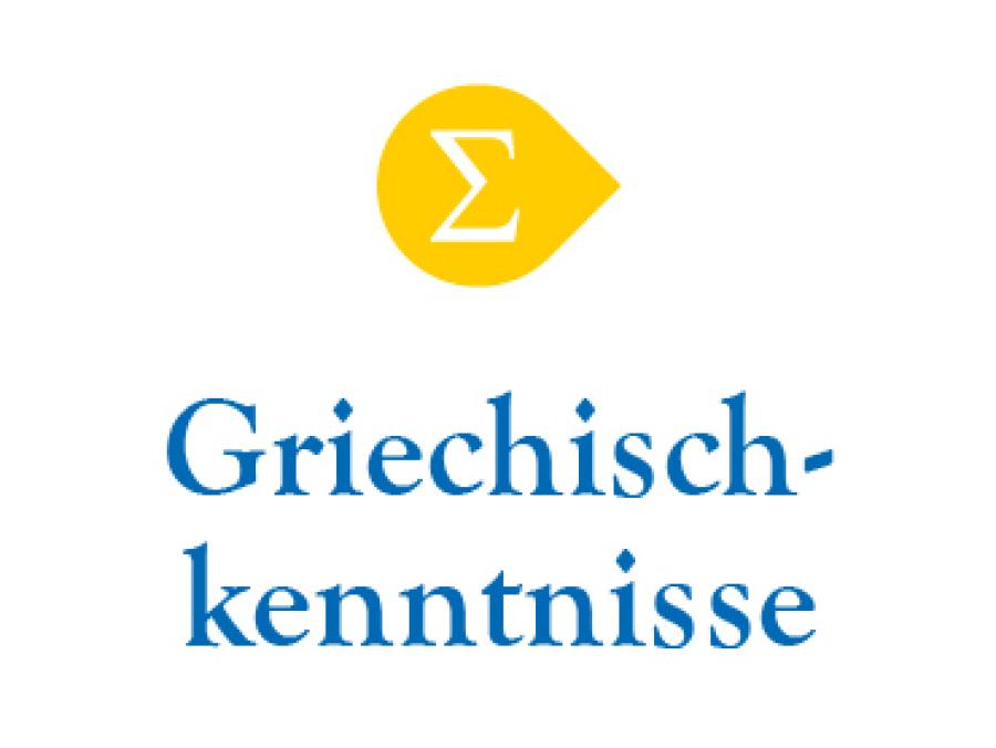 Griechischkenntnisse-Kurs