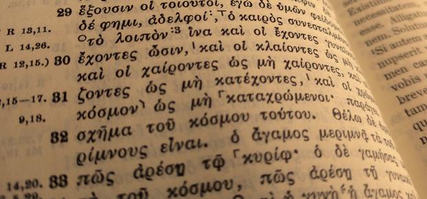 Griechischer Text des Neuen Testaments